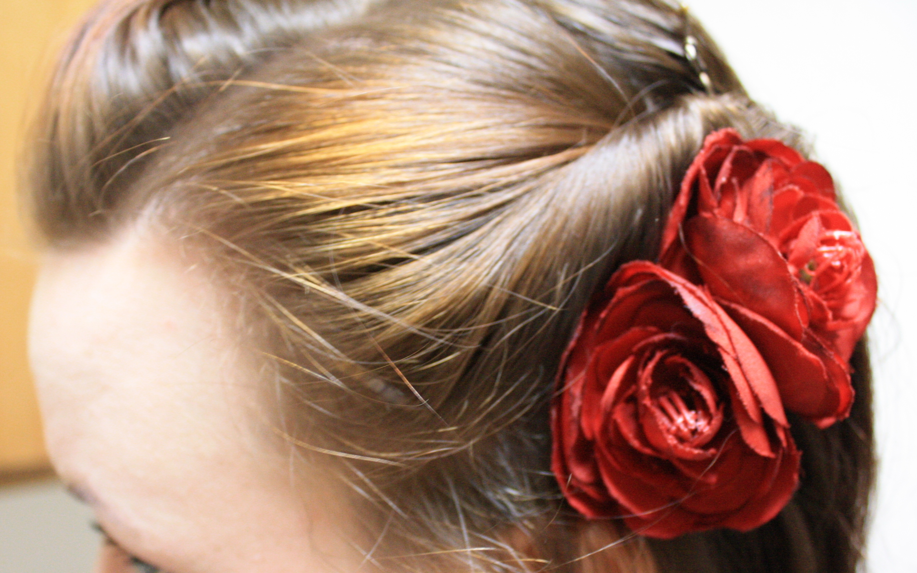 Displaying 16> Images For - Rockabilly Hairstyles With Flowers...