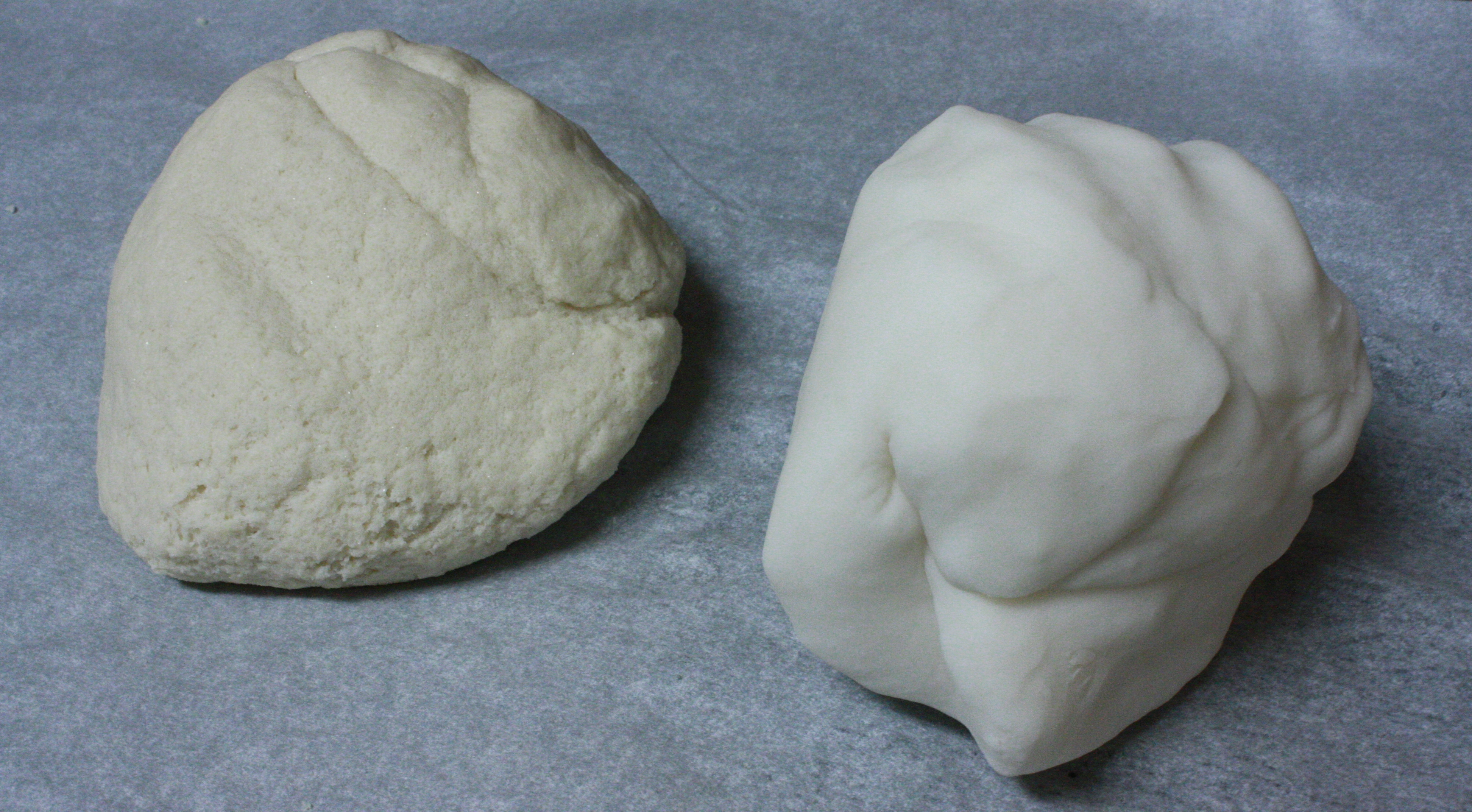 Salt dough vs cornstarch clay thelifeoflulubelle for Pizza in a mug without baking soda