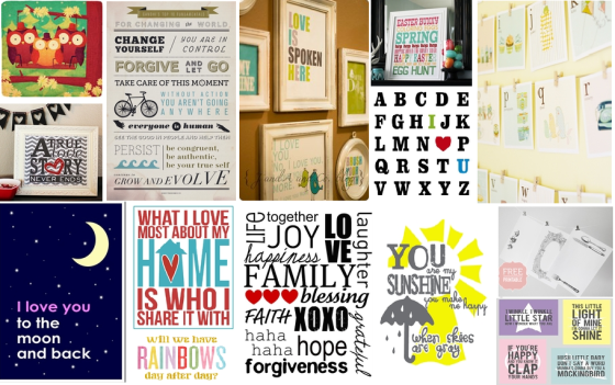 Free Printables for the Home  thelifeoflulubelle olZJv9Kb