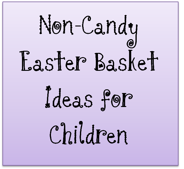 Non candy easter basket ideas for children thelifeoflulubelle what to use for baskets negle Images