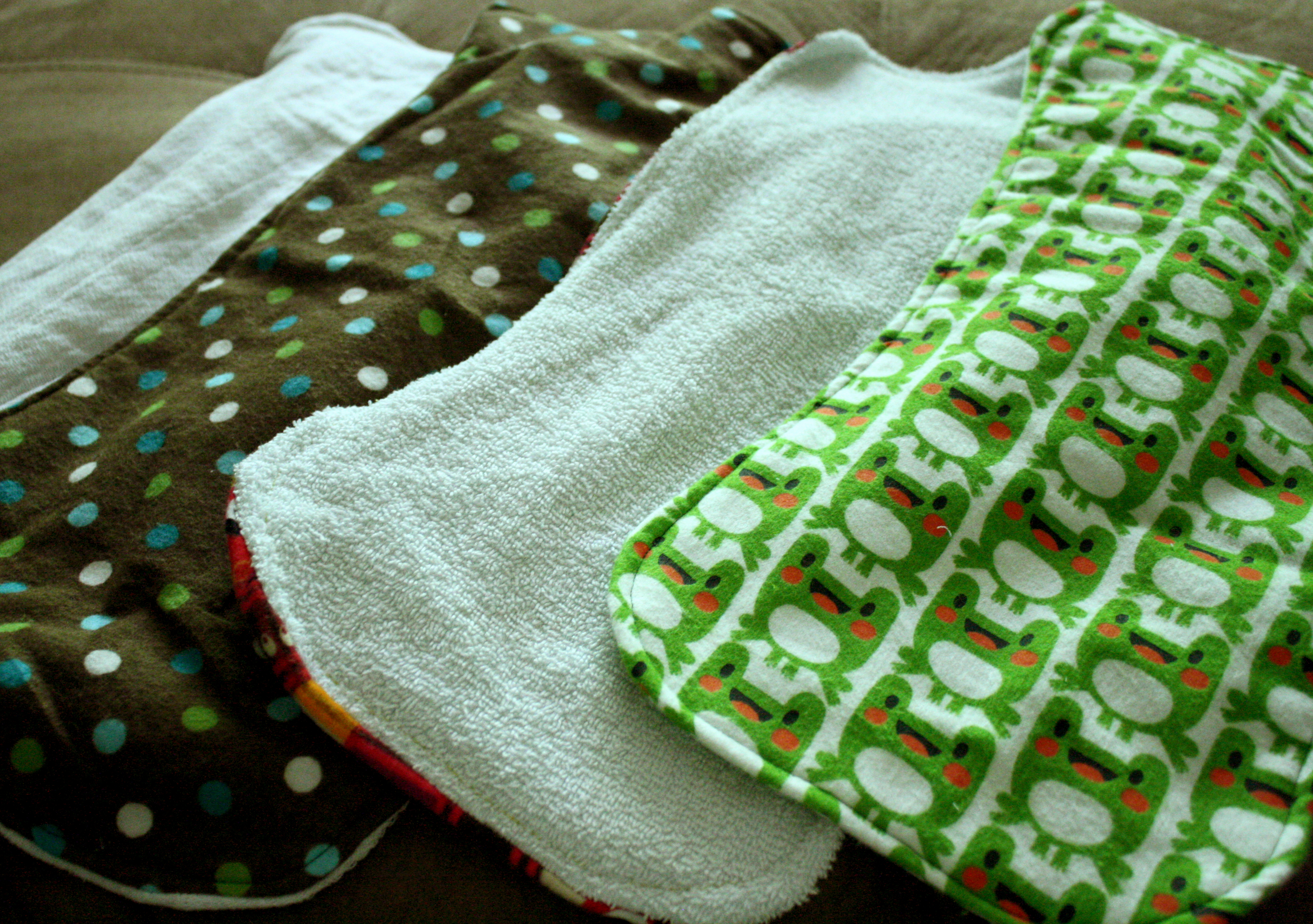 Burp Cloths Diy Instructions And Variations Thelifeoflulubelle