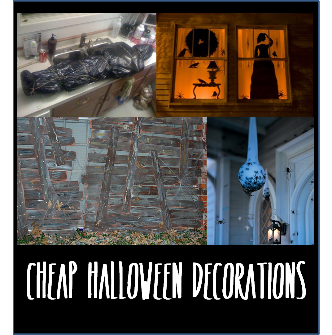 Fun (and cheap) Halloween decorations thelifeoflulubelle - Cheap Halloween Centerpieces