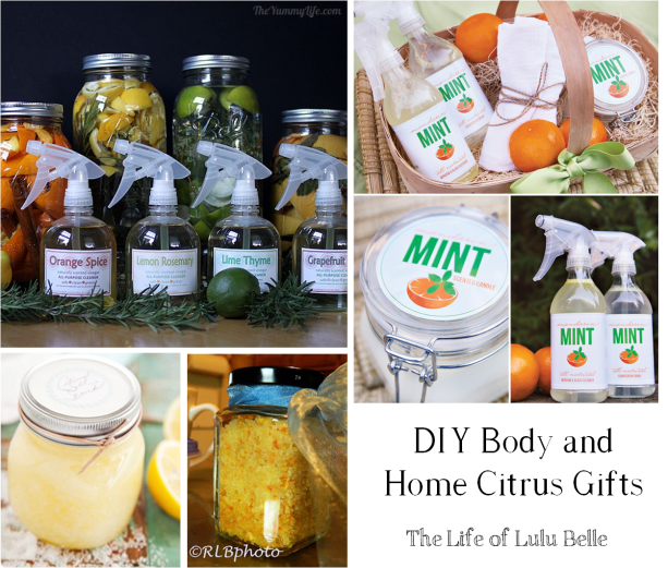 diy body and home citrus gifts