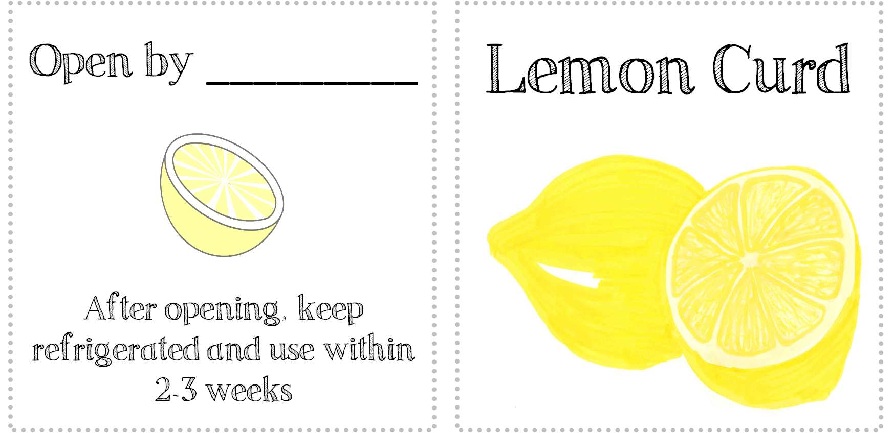 lemon curd tags