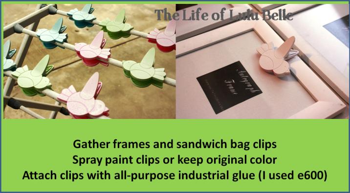 clip picture frames
