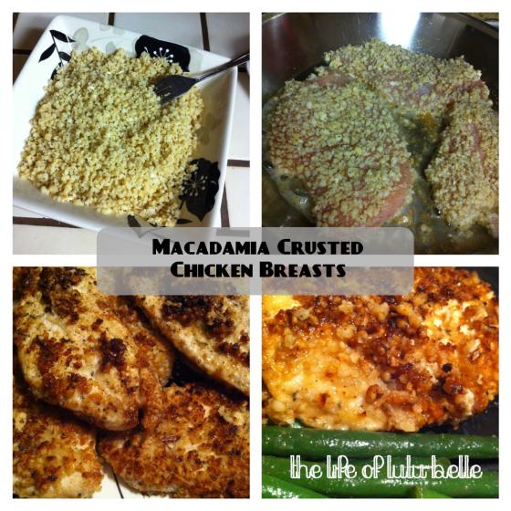 Macadamia chicken