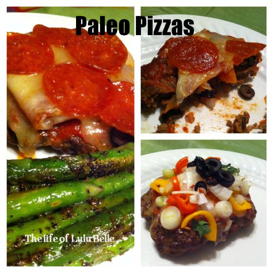 Paleo pizzas