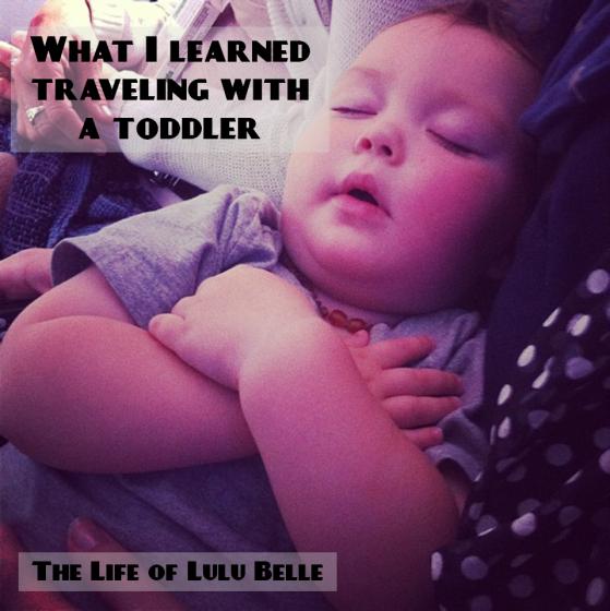 toddler traveling
