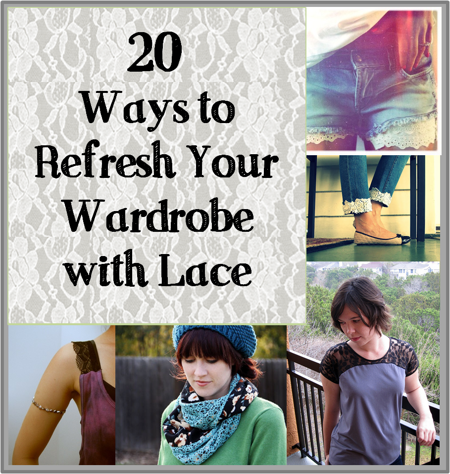 20 ways to refresh your wardrobe with lace